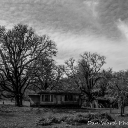 Old House On HWY101-B&W