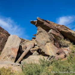 Andreas Canyon Rock Formation-6