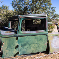 Ford Model A Truck-Joshua Tree Park-3