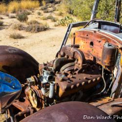 Ford Model BB Truck-Joshua Tree Park-5
